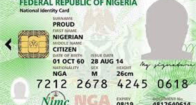 decision of the President Buhari, N5000 For National ID: PDP Asks Buhari To Rescind Decision
