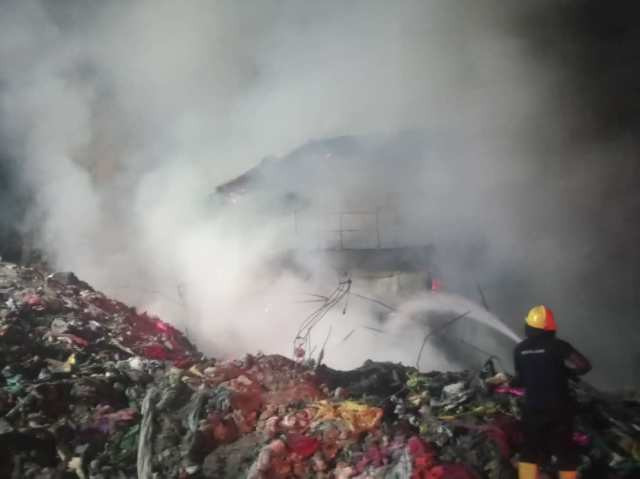 fresh fire broke out, Fire outbreak in Balogun Market again