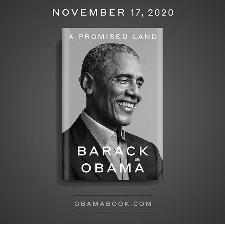 Barack Obama, Barack Obama announces his new memoir, A Promised Land, will be out in November 2020