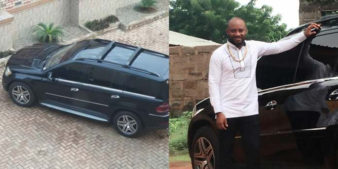 Yul Edochie To Give Out Benz SUV To Lucky Fan