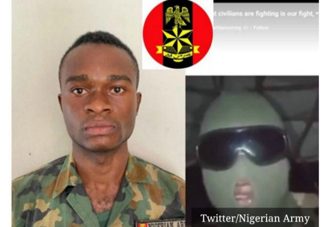 Nigerian army, Americans React To Arrest Of Soldier, Harrison Friday Who Supported Protesters