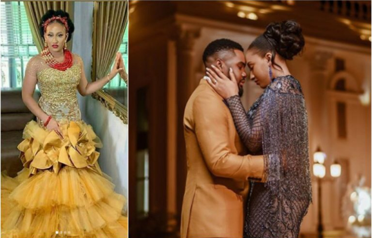 "Williams Uchemba's Wife, ""Holy Spirit Told Me He's My Husband"" – Williams Uchemba's Wife Brunella Narrates How They Met"