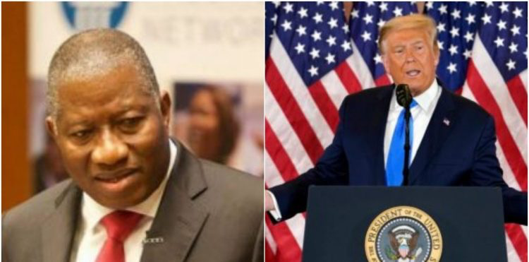 Goodluck Jonathan, Jonathan To Trump: It Is Better To Gain Honour At The Cost Of Losing Power