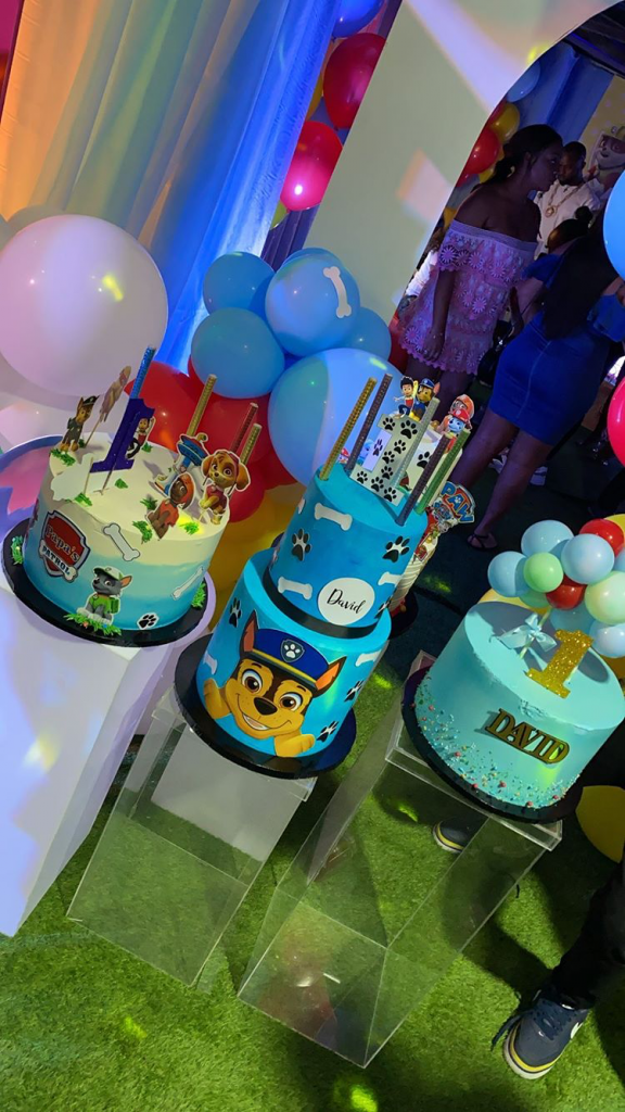 Ifeanyi David, Ifeanyi David Adeleke 1st Birthday: Davido & Chioma Host Party For Their Son