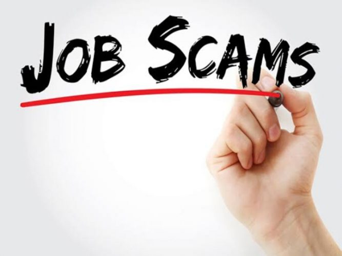 ONLINE JOB SCAM, HAVE YOU EVER BEEN A VICTIM OF AN ONLINE JOB SCAM? READ THIS