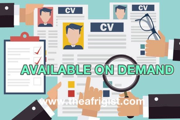"""available on demand, WHY YOU SHOULD USE """"AVAILABLE ON DEMAND"""" ON YOUR CV, INSTEAD OF A FULL LIST OF YOUR REFERRALS"""