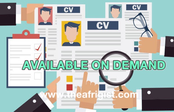 "available on demand, WHY YOU SHOULD USE ""AVAILABLE ON DEMAND"" ON YOUR CV, INSTEAD OF A FULL LIST OF YOUR REFERRALS"