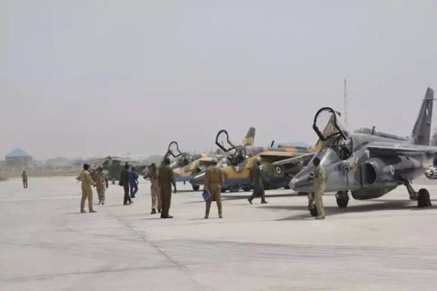 Nigerian Airforce, Nigerian Airforce releases names of pilots on missing jet