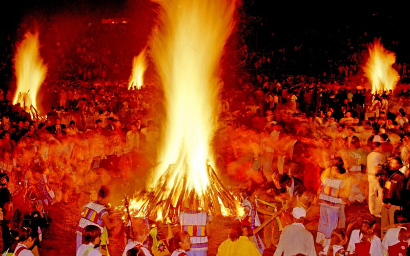 YI TORCH FESTIVAL IN CHINA